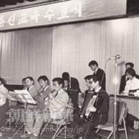 在日朝鮮学生中央芸術コンクール。各学校の教員たちが注いできたひたむきな努力と指導が結集した、