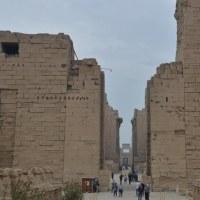 エジプト旅行~カルナック神殿、134本の大列柱~