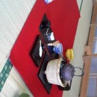 万葉公園、お茶席