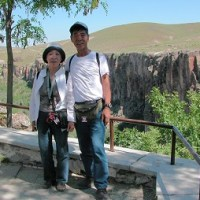 「エジプト・トルコ旅行記」 №100 渓流の下流へも散策