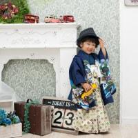 ☆3歳おとうとくん&7歳おねえちゃん一緒に七五三☆ 神奈川県大磯町 スマイルシャトル