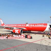 エアアジアの旅客機、「洗濯機のような揺れ」で引き返した。