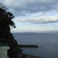 江ノ島の朝!