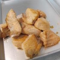秋鮭と茸のムニエル風炒め
