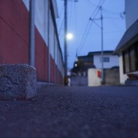 ★裏通りの暗がりで🔦