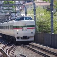 快速山梨富士3号183,9系豊田車M52編成@国立駅