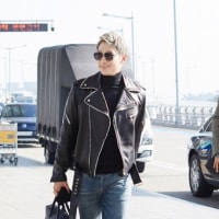 RAIN  カリスマ溢れる空港ファッション  【記事】