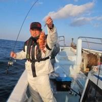 2/15(水):久々の出航でした^^青物に根魚活性良くなかったですが甘鯛にハマチにアコウとお土産はゲット^^
