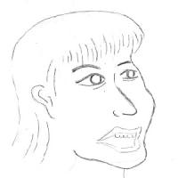 10月24日のチョコット似顔絵
