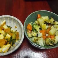 いろいろ野菜のバジル炒め