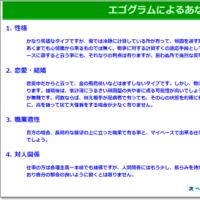 性格診断テスト(3)