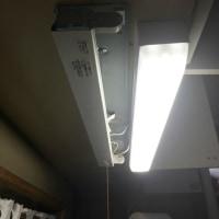 台所の蛍光灯を交換