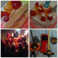 お誕生日8歳kana