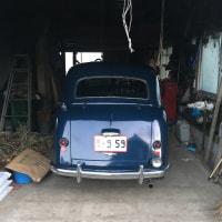 車庫に入れました。