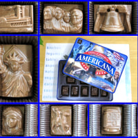 アメリカの歴史かたどるチョコレート