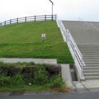 津波避難高台を見に行く