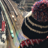 新幹線ウォッチング