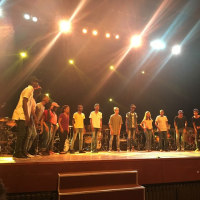 キューバ音楽旅行記23  バテリスタたちの夢の競演