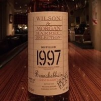 W&M BARREL SELECTION / Bunnahabhain1997-2010 HEAVY PEAT 700ml,46%
