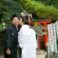 福岡住吉神社で幸せいっぱい! @住吉神社で結婚式撮影