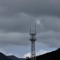 三本ポール鉄塔で休息:コウノトリJ0067の観察と滞在記録更新