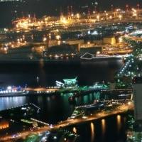 横浜ランドマークタワー69階から見る夜景4