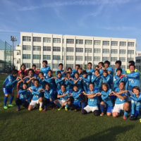 磐田信用金庫サッカー部と交流戦。