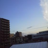2017/4/27 午前5時半過ぎ札幌の空模様
