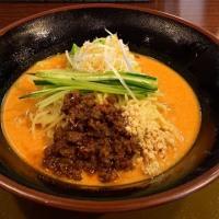 冷やし担々麺を頂きました。 at 三宝亭 与野本町店