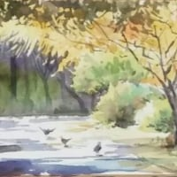 大阪の水彩画展