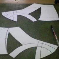 クリマへの靴作成開始。