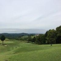 今日はゴルフ