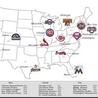 州を覚える   2  MLB-NL