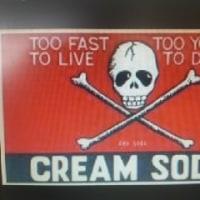 懐かしいクリームソーダ