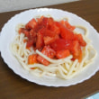 廻るもの 旬野菜でつくった トマトうどん