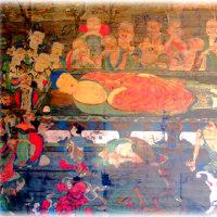 今日は涅槃会(^^♪「涅槃」とは、ニルヴァーナの訳語であり、迷妄のなくなった心の境地を指す言葉