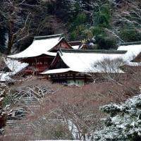 雪の談山神社