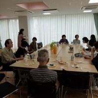 松ヶ丘会お茶会が開かれました