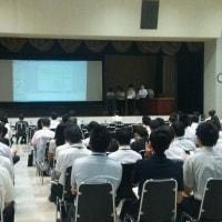 長野県職員等の「政策研究成果報告会」を傍聴