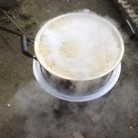 味噌の仕込み