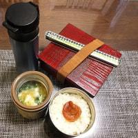 生姜焼きと5種類の簡単おかず弁当。