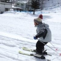 「親バカ」です。子供って覚えるのが早い。ボーゲンも30分でできるようになった、親から見る、スキーの教え方のコツを考える。