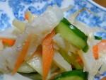 レシピ セロリとつまみタラの漬け物