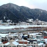 太田川雪景色
