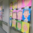 幼稚園の子供たちの絵が・・・いわき生涯学習ラザロビーにて