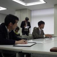原発避難者団体が住宅無償提供の打ち切り撤回への働きかけを求め、東京都に署名提出