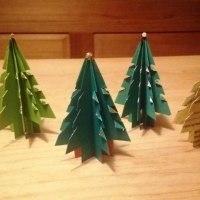 折り紙のツリー