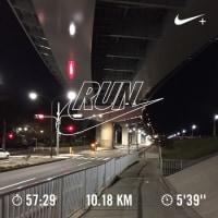祝100km 2016/11/29