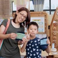 お母さんと一緒に作りました   竹島クラフトセンター