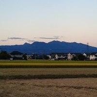 夕方の赤城山